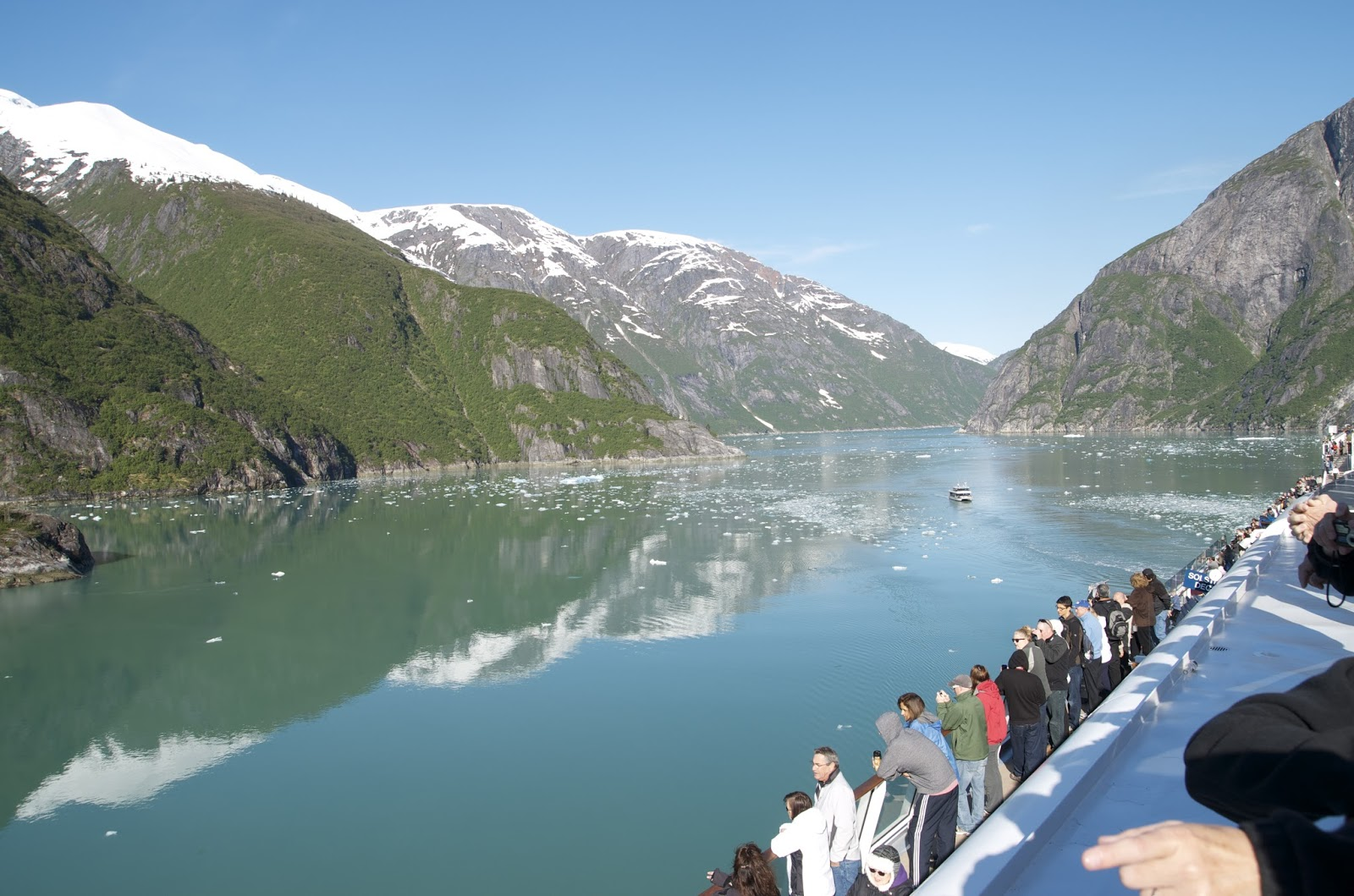 Tracy Arm Fjord Near JuneauAlaska - Tracy arm fjord