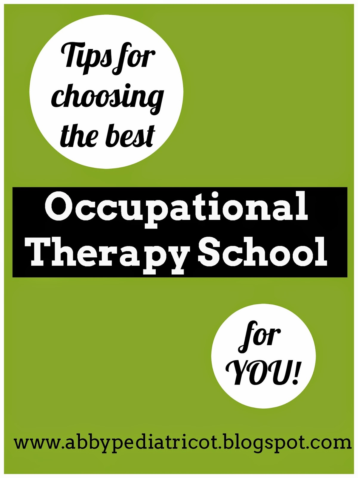 OT Cafe: Tips for choosing the best OT or OTA school for you