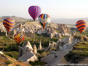 Tempat wisata terkenal di Turki Cappadocia