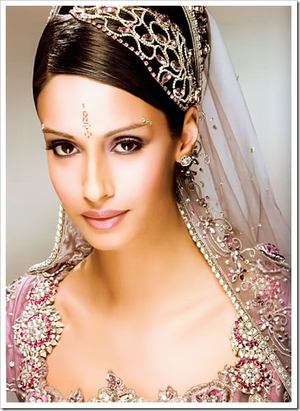 indian makeup tips. Bridal Makeup purple