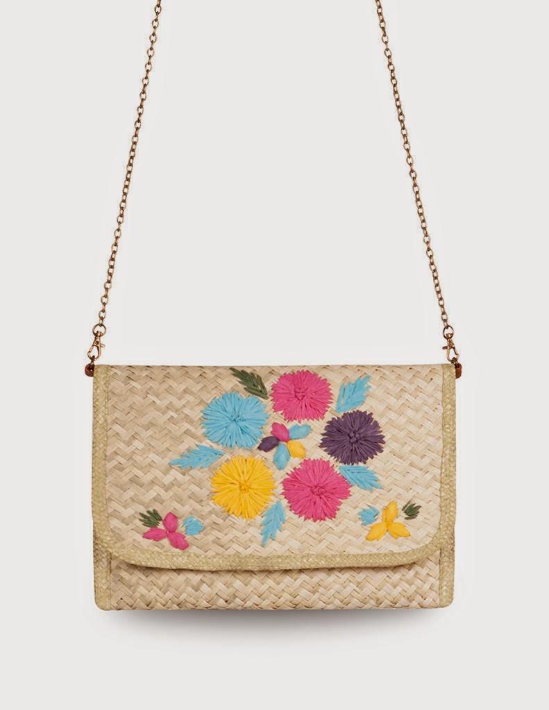 Sobre rafia/Portfolio Bag: SUITEBLANCO