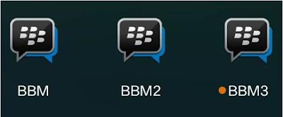 cara memasang banyak bbm dalam satu perangkat android