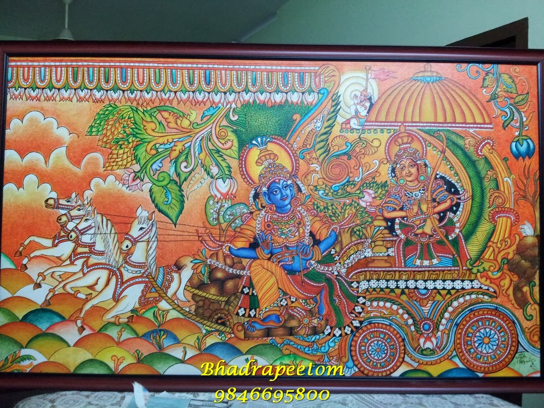bhadrapeetom mural arts november 2013. Black Bedroom Furniture Sets. Home Design Ideas