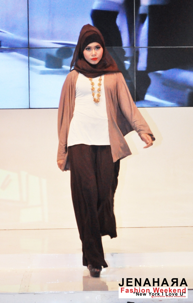 Fashion Weekend 39 New York I Love U 39 Levelone Grand Indonesia Jenahara