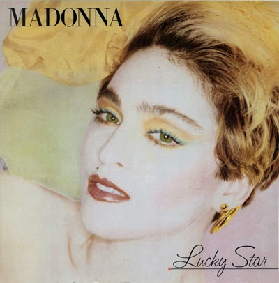 Image result for madonna first album lucky star alternate cover