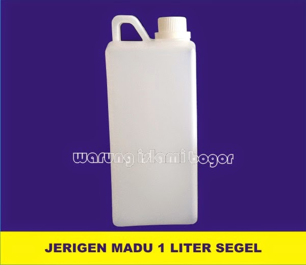 Jual Botol Jerigen 1 kg Tutup Segel Warna Merah dan Putih