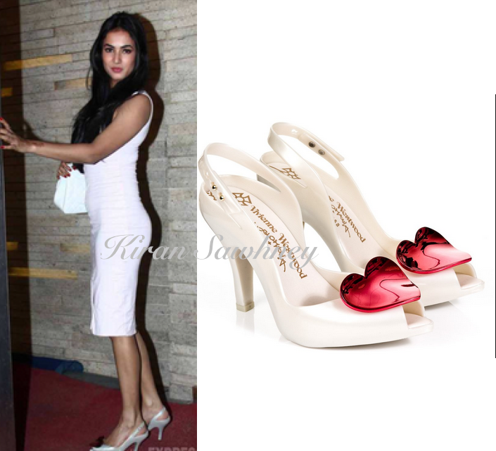 #SonalChauhan  Shoes - #viviennewestwood