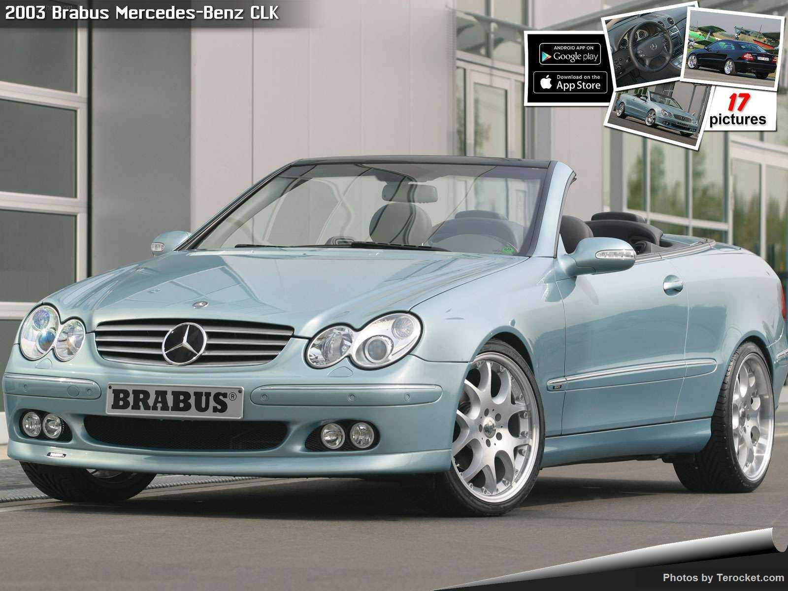 Hình ảnh xe ô tô Brabus Mercedes-Benz CLK 2003 & nội ngoại thất