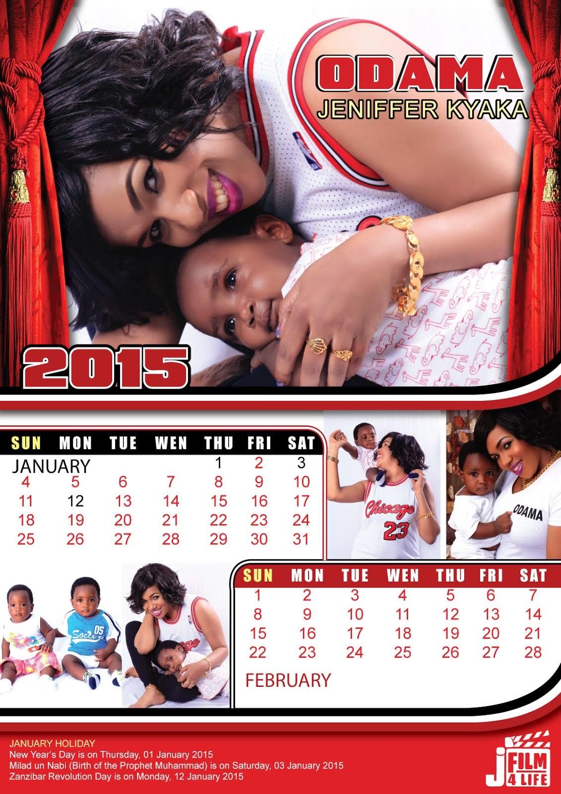 JANUARI 2015 KALENDA