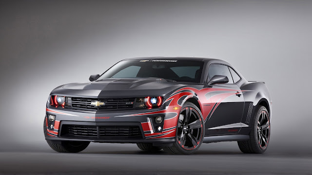 Chevrolet Camaro ZL1 Black Red