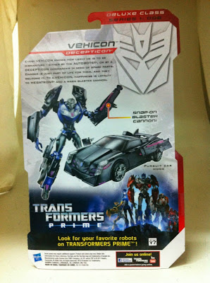 Transformers Prime Vehicon in Package