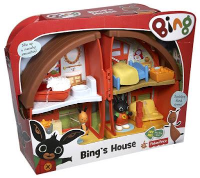 TOYS : JUGUETES - Fisher-Price : BING  La Casa de Bing | Bing's House  Producto Oficial 2016 | Mattel CDY38 | A partir de 2 años  Comprar en Amazon España & buy Amazon USA
