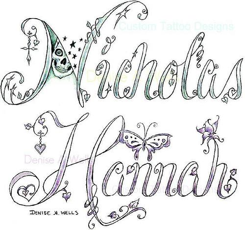 Tribal Name Tattoos and Tattoo 2012