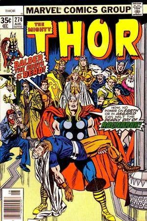 thor 274 comic image