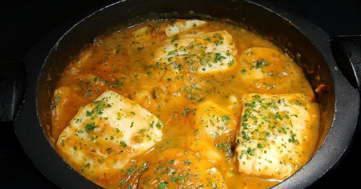 Cocinar para los amigos guiso de bacalao con patatas - Cocinar bacalao desalado ...