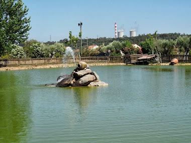 O lago da quinta