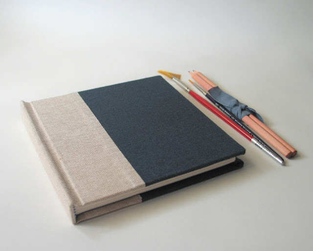 Working Man Sketchbook by Arte e Luar Bookbinding