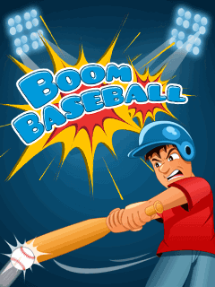 Boom : Baseball mobile game,games for touchscreen mobiles,java touchscreen mobile games