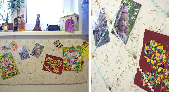 доска для заметок, французская доска, дизайн детской комнаты, напоминалки, комната для девочек