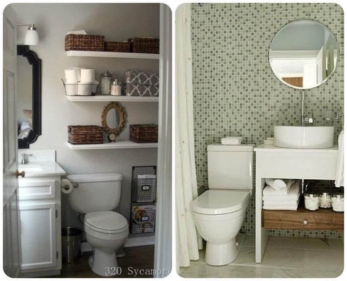 Decoração para banheiros pequenos  Comprando Meu Apê  Comprando Meu Apê -> Decoracao Meu Banheiro