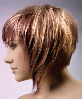 Short hairstyles and color 2012 | Hair Braiding Style