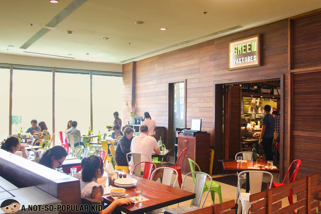 One of the hottest restaurants in town - Green Pastures of Shangrila Plaza