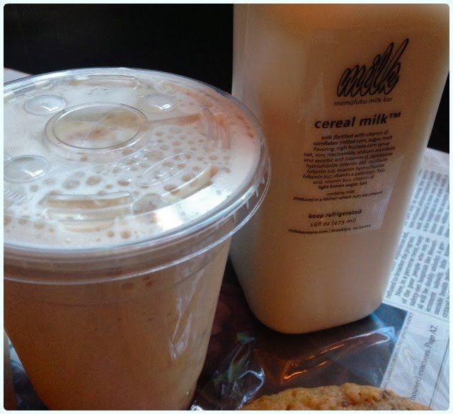 Momofuku Milk Bar, New York - Cereal Milk and Pretzel Shake