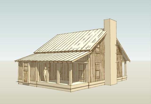 sherrod drawings lake house hunting cabin