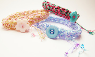crochet friendship bracelet