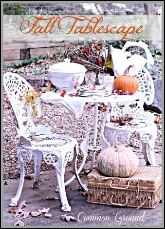 Outdoor Fall Buffet