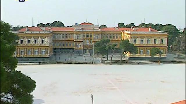 το ξερό γήπεδο του ορφανοτροφείου παπάφειο