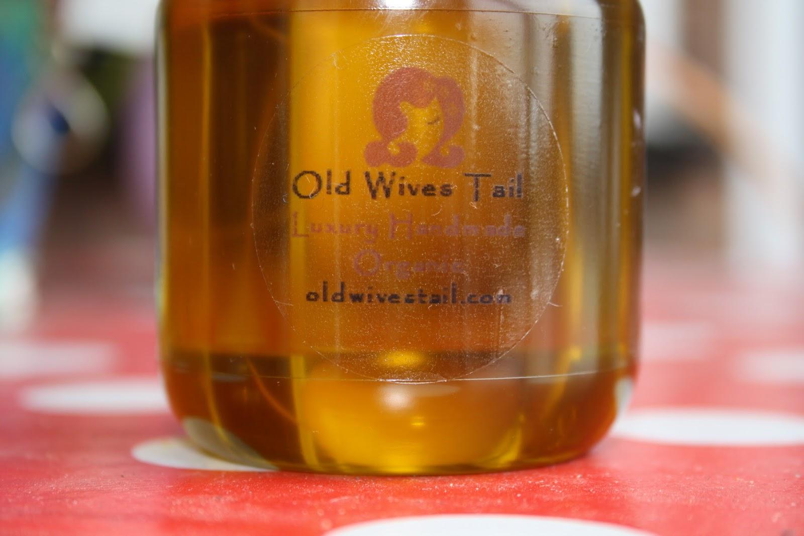 Old Wives Tail SOS Organic Anti-Hair Loss Oil Treatment