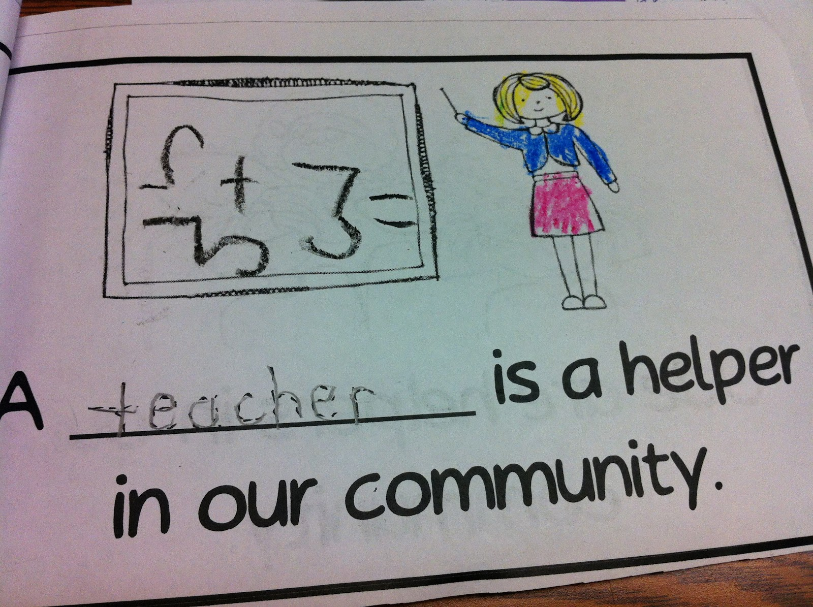 the adventures of a k 1 teacher community helpers