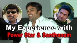 My Experience With PowerStar & Santhanam Speech By Shiva