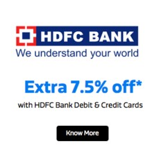 Flipkart discount coupon hdfc credit card