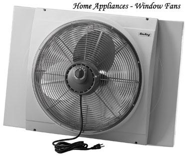 Home appliances gallery home appliances window fans for 18 window fans