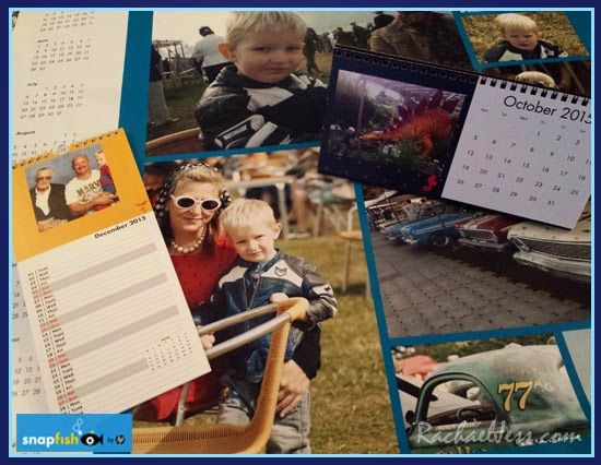 Creating personalised photo calendars with SnapFish