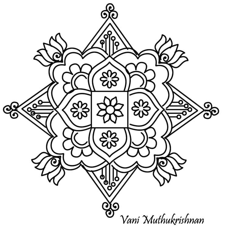 Kids Page: - Information About Mykolam blogspot inMy Kolam Coloring ...