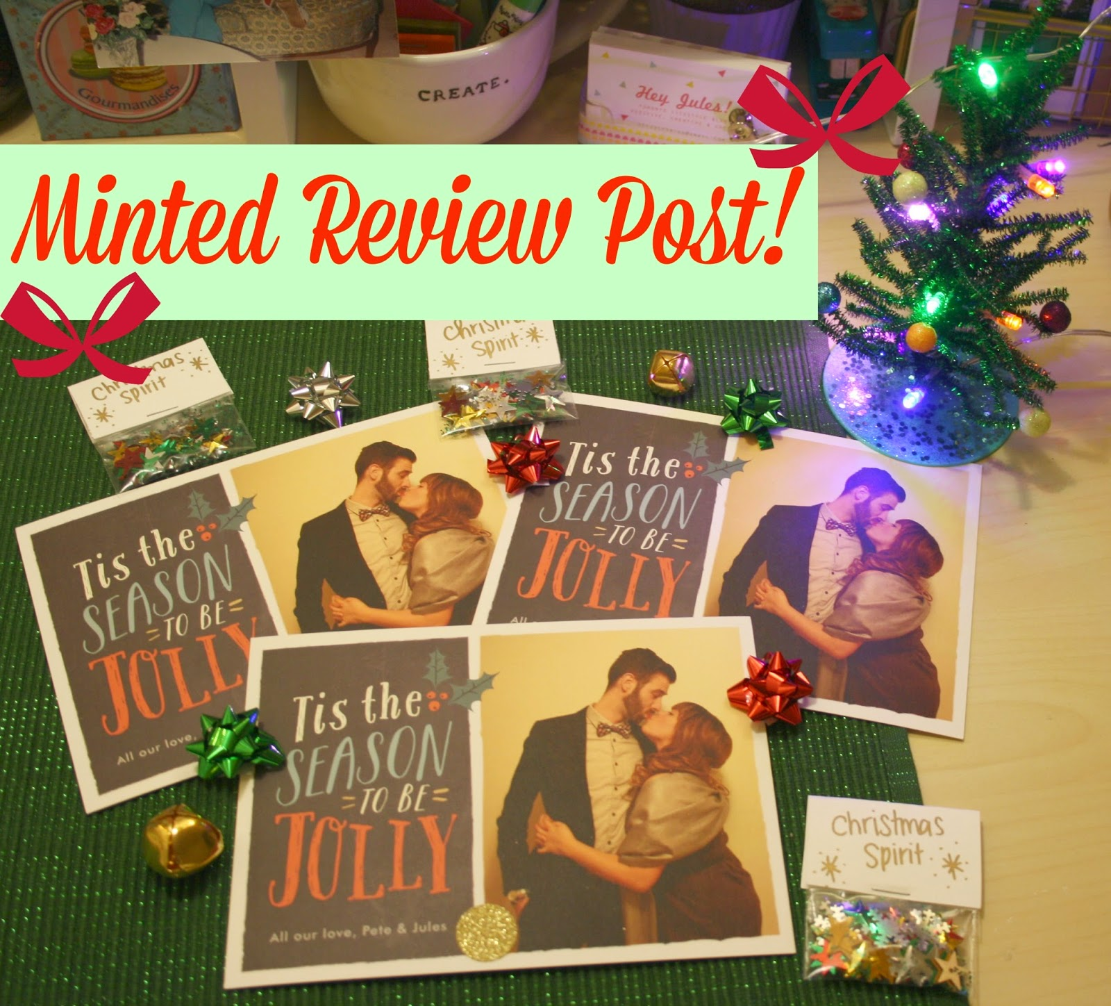 Minted Review : The Prettiest Christmas Cards!