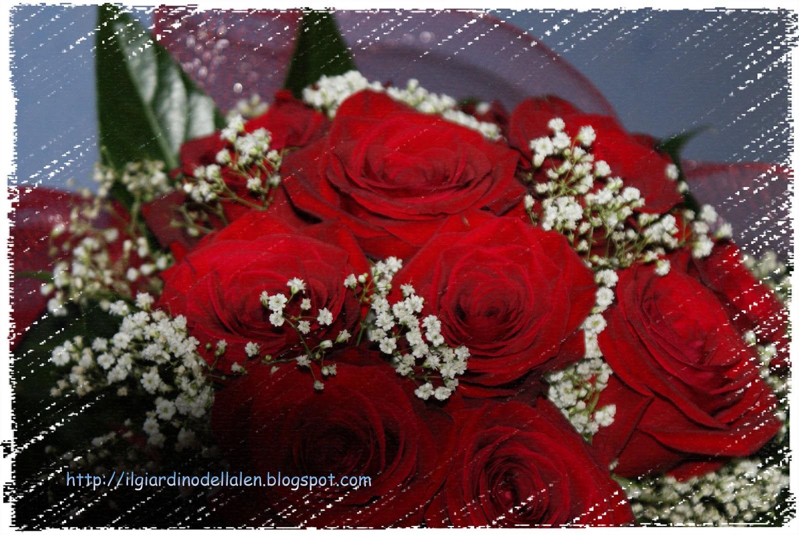 Il giardino dell 39 alen un mazzo di fiori speciale per una for Progetta il mio mazzo