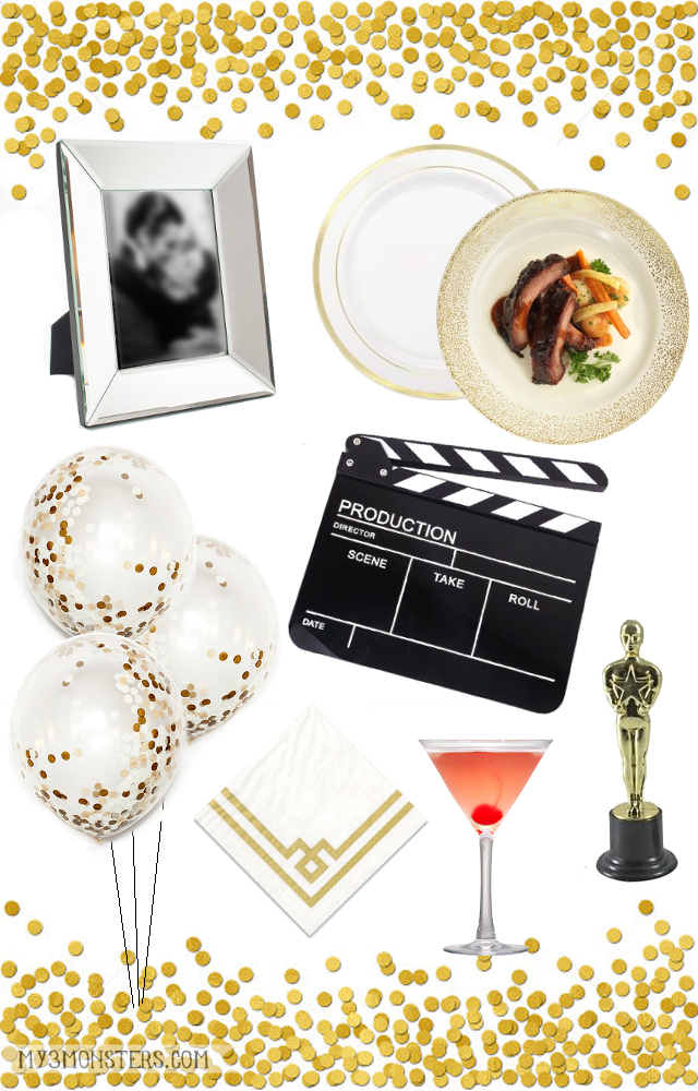 How to Host an Epic Movie Awards Party at my3monsters.com #AwardWithSavings