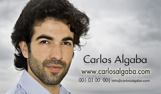 ver tarjeta de vista del actor Carlos Algaba, realizada por pepeworks.com