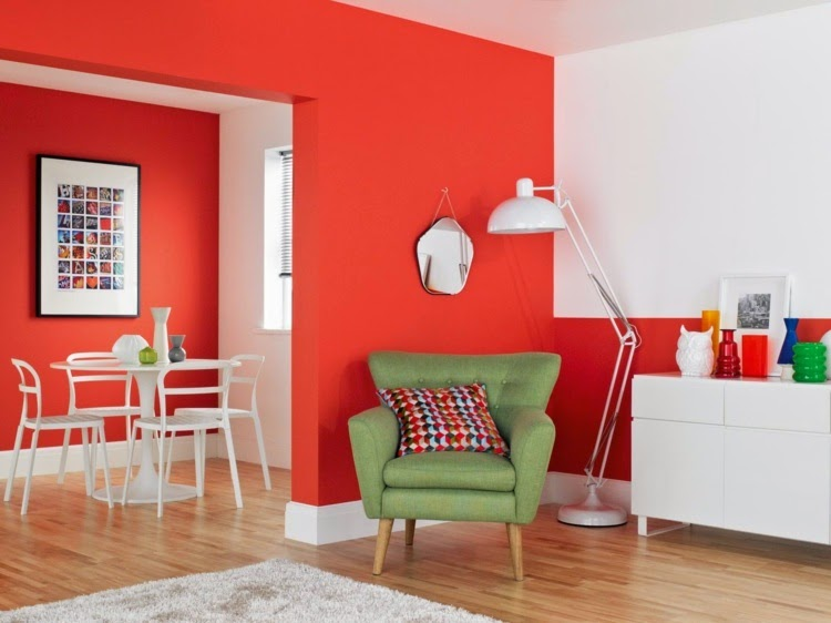 15 cool wall paint color ideas for inspiration for Home wall paint colour