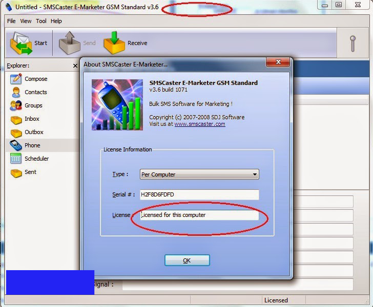 smscaster free download with crack and keygen