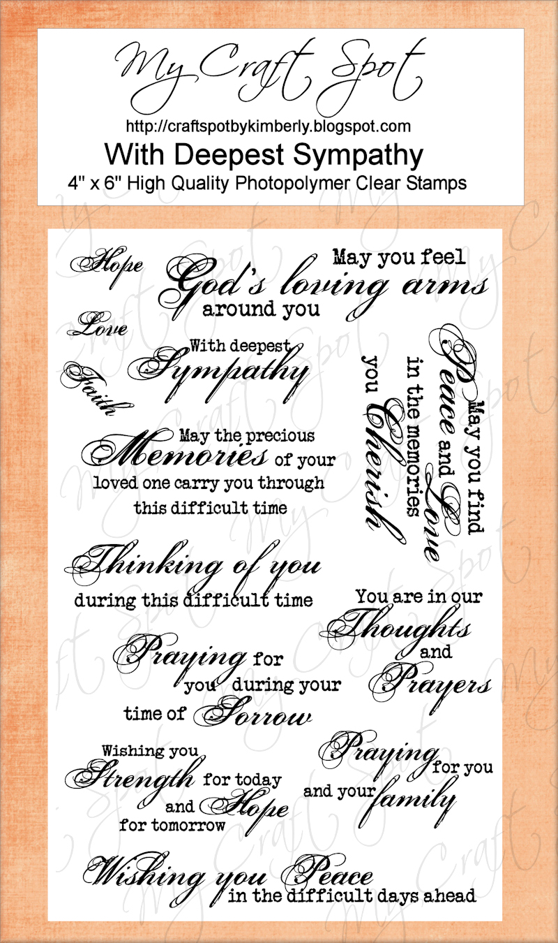 Small Bits of Paper: Sympathy Card