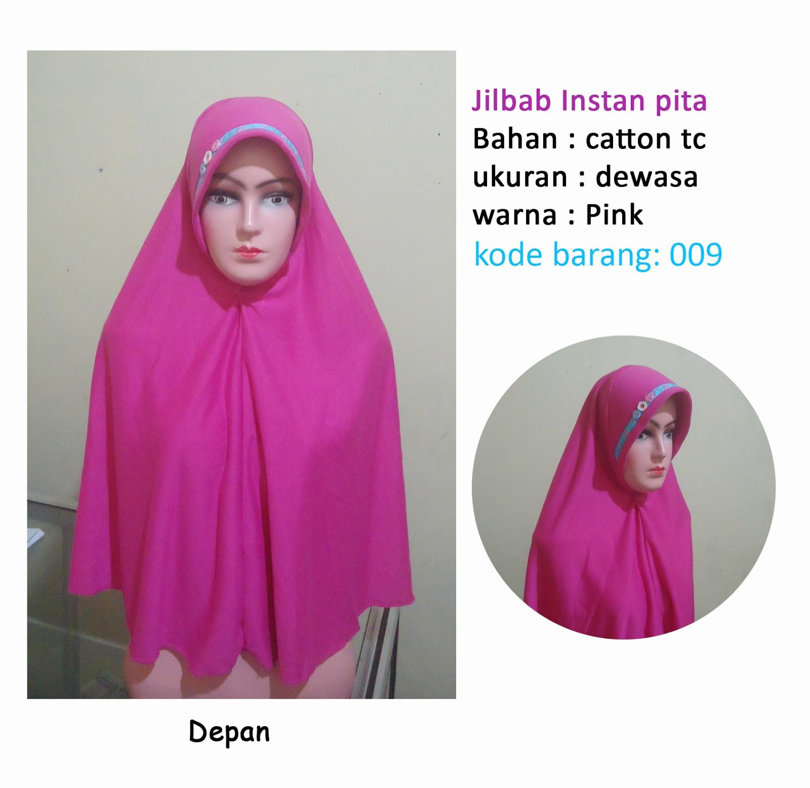 Jilbab Syari Instan Pita Depan Selain Kami Melayani Juga Agen Distributor Grosir Segi Empat Umama Bolak Balik Bergo