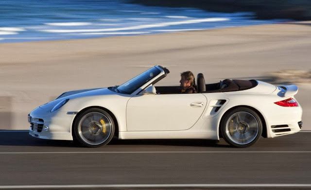 Spyshot - Porsche 911 Turbo Convertible