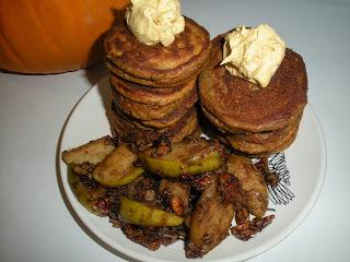 Domestic 360: Paleo Pumpkin Spice Silver Dollar Pancakes with Cinnamon ...