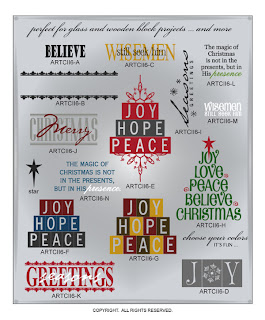 Image Christmas vinyl decal