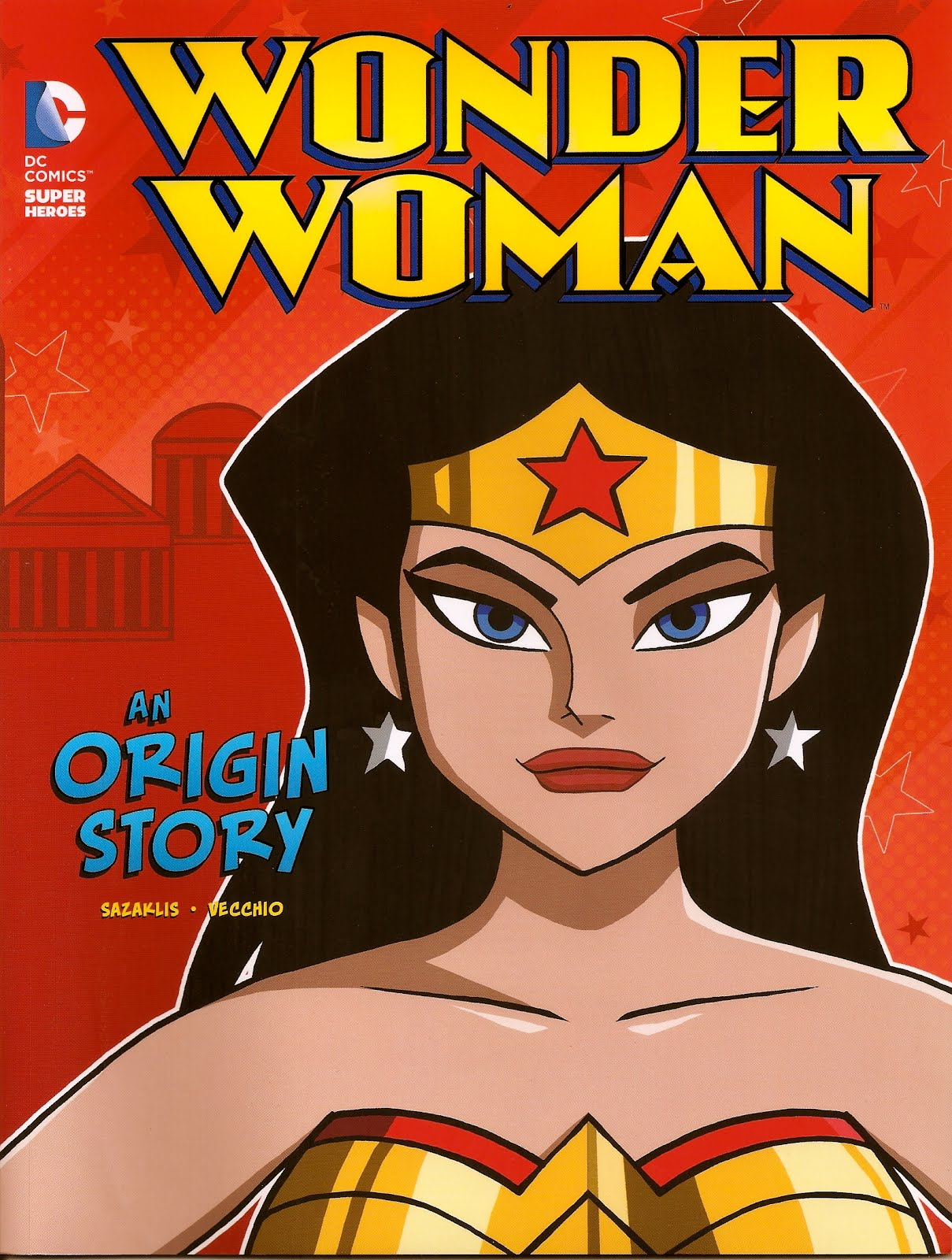 Wonder Woman: An Origin Story by John Sazakalis and Luciano Vecchio